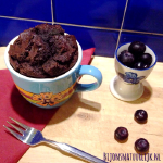 Valentijn recept Brownie in a Mug
