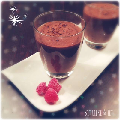 romige chocolade mousse recept